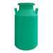 Green color milk can